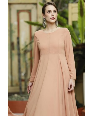 CLARA DRESS - DUSTY ORANGE